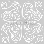 Jorinde Spirals Seamless Vector Pattern Design