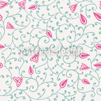 Florale Verzierung Nahtloses Muster