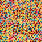 Honigwaben Variationen Rapportiertes Design