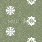Sleeping Beauty Dream Seamless Vector Pattern Design