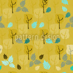 When The Last Leaves Fall Seamless Vector Pattern Design