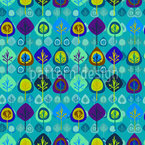 Wild Forest Mix Seamless Vector Pattern Design
