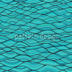 Wavy Arcs Pattern Design