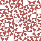 Harlequin Chaos Seamless Vector Pattern Design
