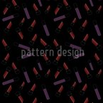 Neon Make Up Seamless Vector Pattern Design
