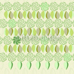 Floral Eight Times In Spring Repeat Pattern