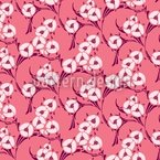 Une Chanson En Rose Seamless Vector Pattern Design