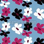 Einfach Flora Vektor Muster