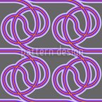 Wired Cables Seamless Vector Pattern Design