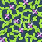 Frühling Im Sudoku Beet Muster Design