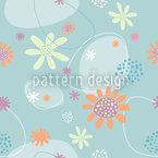Flowers Mathilde Seamless Pattern