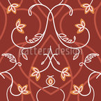Gothic Flowers Pattern Design