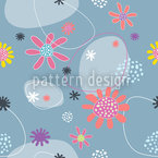 Blumen Mathilda Seamless Vector Pattern Design