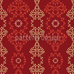 Eastern Arabesques Seamless Vector Pattern Design
