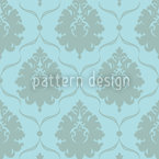 Damask Corinne Seamless Vector Pattern Design