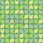 Retro Ivy Seamless Vector Pattern Design