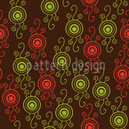 Verlockende Kreise Muster Design