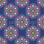 パルサー風星雲 シームレスなベクトルパターン設計