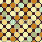 Hexagon Deco Seamless Vector Pattern Design