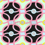 Waiting For A Chain Reaction  Seamless Vector Pattern Design