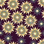 Nächtliche Stern Formation  Nahtloses Muster