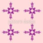 Organisches Kreuz Vektor Muster