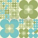 Retro Circle Spring Pattern Design