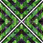 Tiles In The Hothouse Seamless Vector Pattern Design