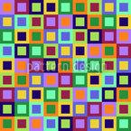 Fenster Zum Quadrat Rapportiertes Design