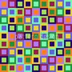 Fenster Zum Quadrat Nahtloses Vektormuster