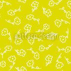 Lena Malt Blumen Vektor Muster