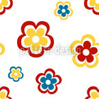 Happy Seventies Seamless Vector Pattern Design