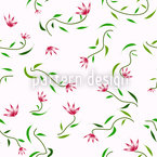 Magic Spring Seamless Vector Pattern Design
