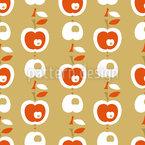 Äpfel In Karamell Rapportmuster