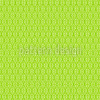 Checkered Spring Leaves Pattern Design