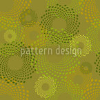 Straw Circles Seamless Vector Pattern Design