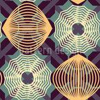 Spiralen Illusion Nahtloses Muster