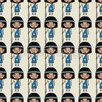 Pocahontas Armee Rapportiertes Design