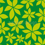 Young Chestnut Leaves Pattern Design