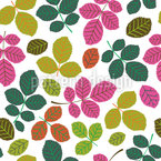 Leaf Potpourri Seamless Vector Pattern Design