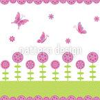 Schmetterling Freuden Nahtloses Vektormuster