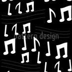 Notes Escape Seamless Vector Pattern Design