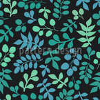 Leaf Variations Vector Pattern