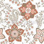 Delicate Nature Seamless Vector Pattern Design