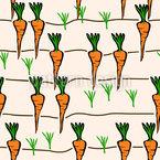Karotten Beet Nahtloses Muster