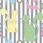 Artistocats Pattern Design
