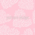 Fine Hearts Vector Ornament