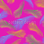 Palm Leaf Avant Garde Estampado Vectorial Sin Costura