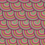 Clouds Of Sweet Circles Seamless Vector Pattern Design