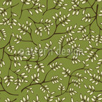 Branches In Spring Vector Pattern